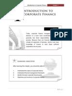 FINANCE MANAGEMENT FIN420chp 1