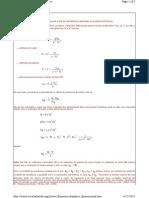 Impeller Design Formulas
