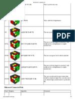 rubiks cube algorithm , rubik, algorithm , bob burtons cubewhiz