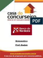 Apostila BNB.2014 Matematica Dudan