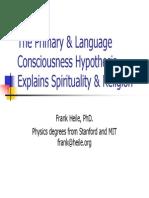 Consciousness Spirituality April 2014