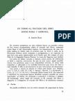 En Torno Al Tratado Del Ebro.