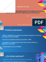 Presentación - Proyecto Balance de blancos automático (AWB)