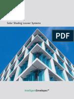 Colt Solar Shading Louver Systems