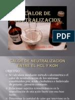 Diapositivas- Calor de Neutralizacion-2014