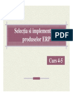Curs4-5 Implementare SistemeERP