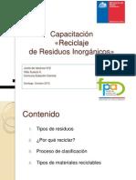 769 Capacitacion en Residuos Inorganicos
