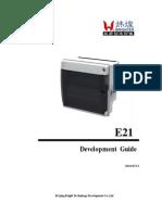 E21 Manual(Wang)