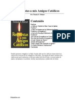 Respuestas a Mis Amigos Catolicos- Thomas F. Heinze