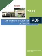 Plan de Desarrollo Laboratorio de Aguas y Suelos Agricolas LASA