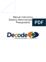 Manual Instructivo Software Gestion