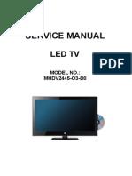 Awa Mhdv2445-o3-d0 Lcd Tv Service Manual