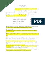 Diagrama de procesos para obtener Formalina