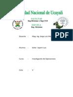 Informe Final de IO
