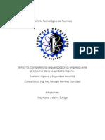 1.5 Competencia Requeridad Por Las Empresas en El Profesional de La s y h