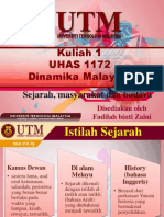 Kuliah 1 Dinamika Malaysia