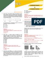 Gabarito Prevestibular Gabarito Comentado Livro 4 Mt 2013