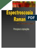 Espectroscopia Raman. Princípios e Aplicações