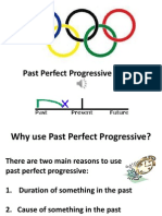 past perfect progressive ppt