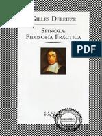 Filosofía Práctica - Spinoza