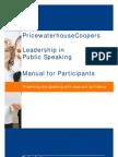 PwC Toastmasters Participant Handbook
