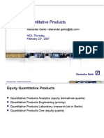 Deutsche Bank QP1 Internships