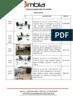 Catalogo Mobiliario