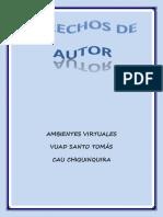 Derechos de Autor Para Publicaciones y Trabajos