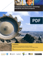 Iron Resources and Production Technology Sustainabiilty and Future Prospects