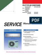 Manual de Servicios Splits Samsung