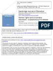 + Kiwan 2012 - Human Rights and citizen education - repositioning the debate