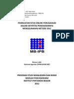 Pembuatan Situs Online Perusahaan Dalam Aktifitas Pemasarannya Menggunakan Metode SDLC Paper UAT Take Home