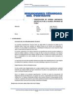 Especificaciones Tecnicas Ie Nº 42233