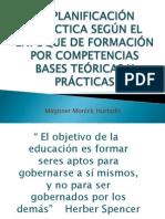 Seminario La Planificacion Didactica y Las Competencias