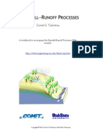 Rainfall Run Off Processes
