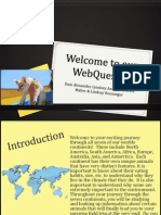 welcome to our webquest