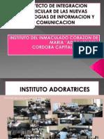 Proyecto de Integracion Curricular de Las Nuevas Tecnologias