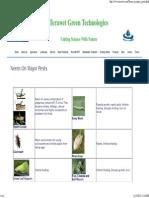 Neem Effect on Major Pests