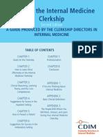 Primer to IM Clerkship