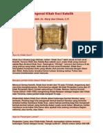 Mengenal Kitab Suci Katolik