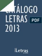 Catalogo Letras 2013