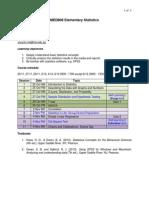MED808 Course Information