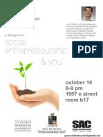 The GW Social Enterprise Forum Presents