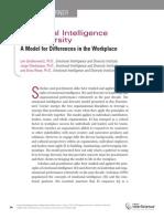 Emotional Intelligence and Diversity Model(Gardenswartz, Cherbosque, Rowe, 2010)