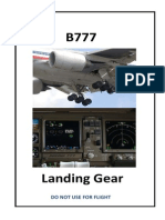 B777 Landing Gear