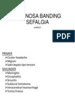 Diagnosa Banding Sefalgia