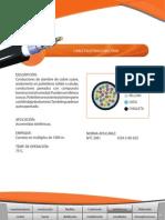 CATALOGO NEXANS Telefonicos Multipares