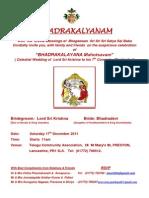 Bhadrakalyanam English