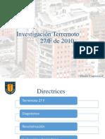 Investigacion Terremoto 27f