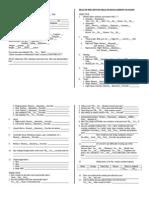 Gordon s Functional Health Pattern Assessment Tool